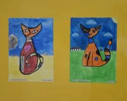 Ausstellung von Schülerarbeiten