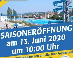 Terrassenschwimmbad Saisoneröffnung 2020